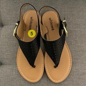 Whitemt. Women's Thong sandals